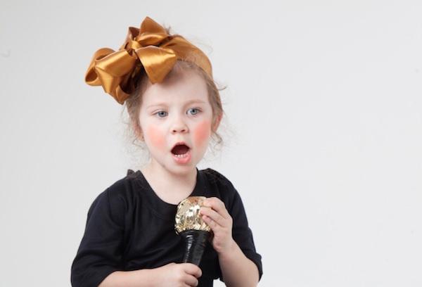 子供の歌手