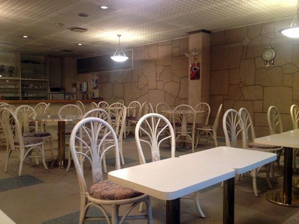 コールセンターの休憩室