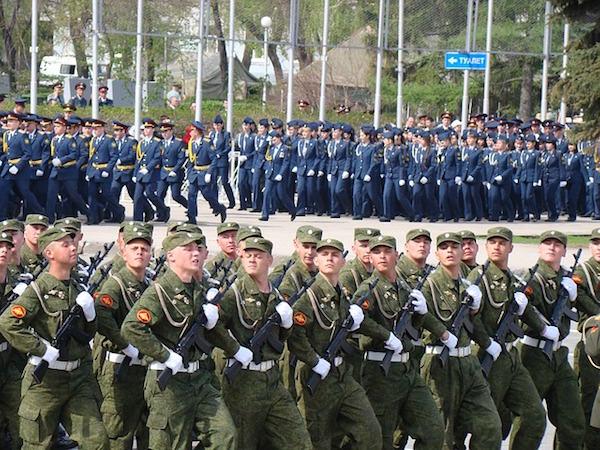 軍隊のパレード